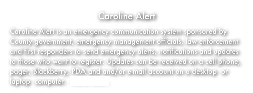 Caroline Alert